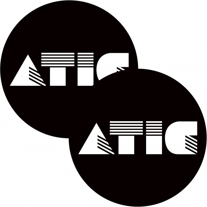ATIC black & white logo slipmat 2