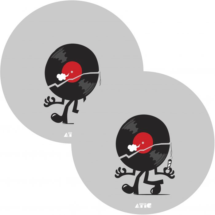 ATIC vinyl mascot slipmat 3