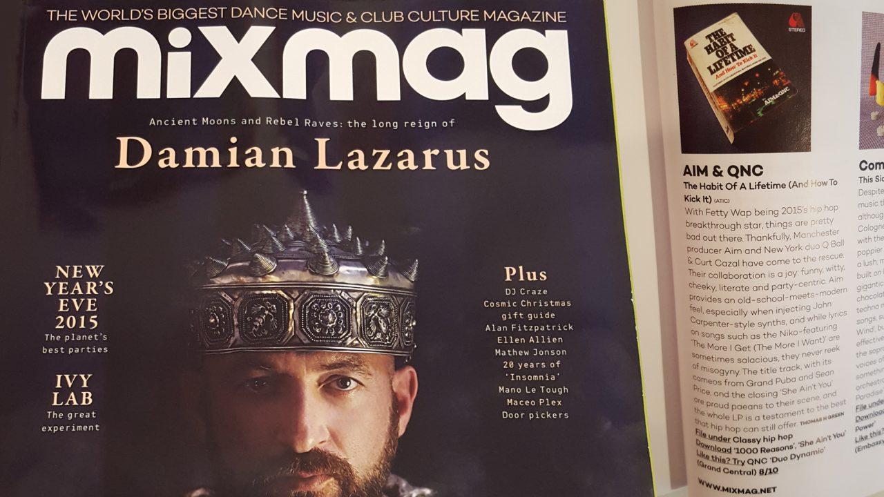 Mixmag reviews Aim & QNC   ATIC Records