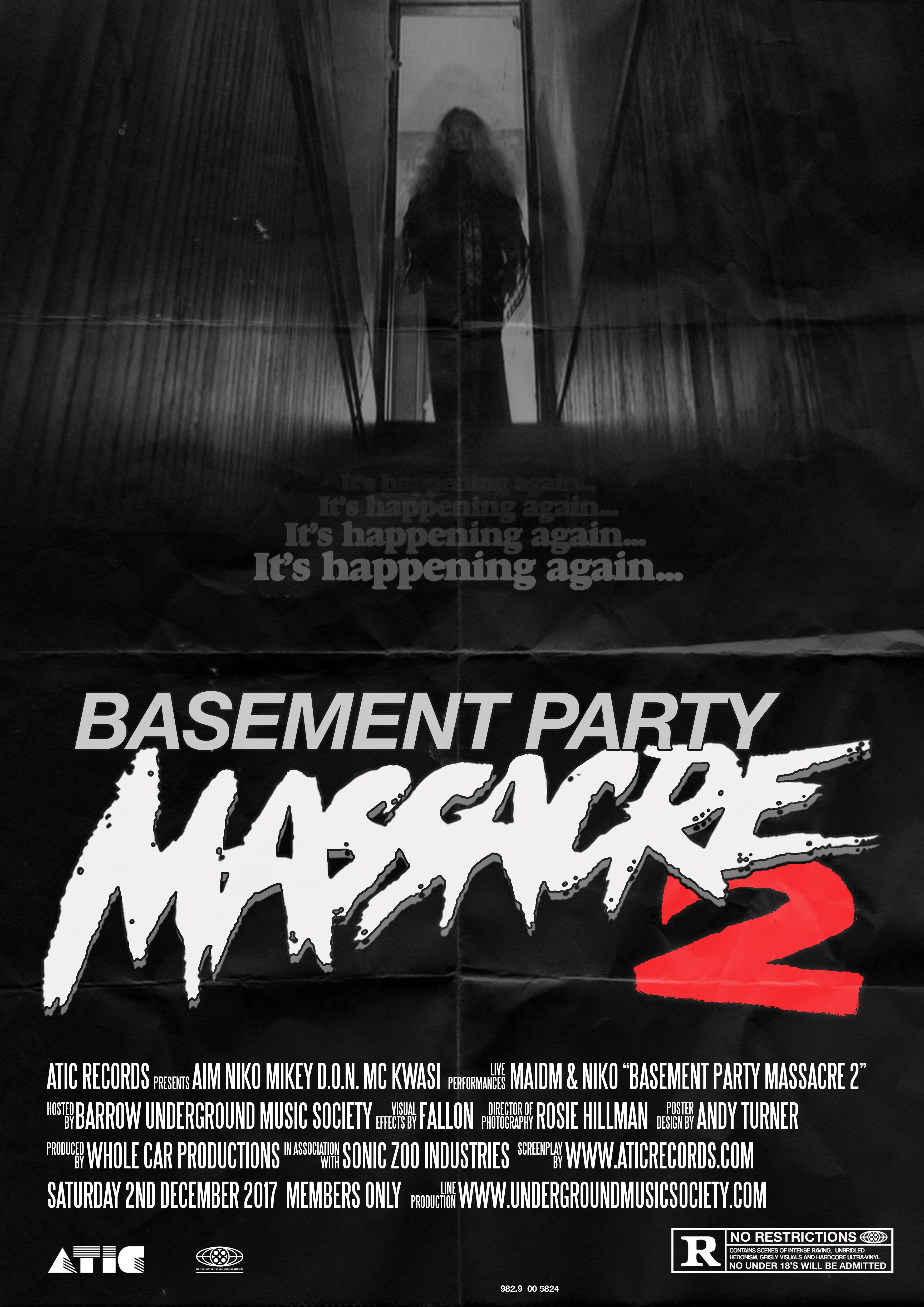 'BASEMENT PARTY MASSACRE 2' STARRING AIM, NIKO, MIKEY D.O.N. & MC KWASI